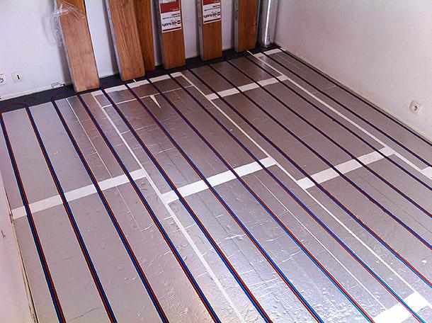 Plancher chauffant en rénovation - Vivracom