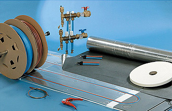 Vivracom kit de montage - Plancher chauffant en rénovation