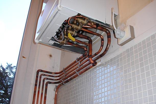 Installer chaudière à condensation