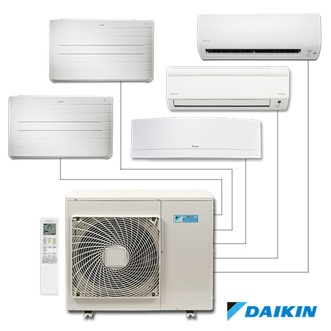 Devis fourniture et installation de clim Daikin multi-split