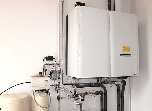Dépannage de chaudières au gaz