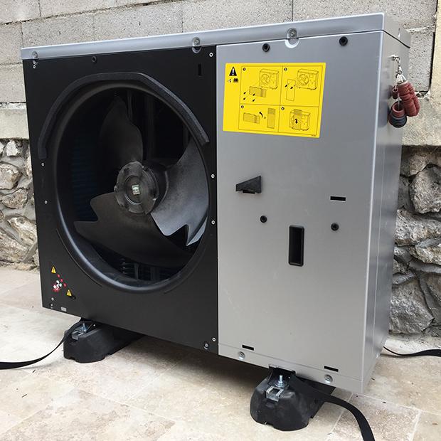 PAC Haute température - installation Altherma 3 H HT